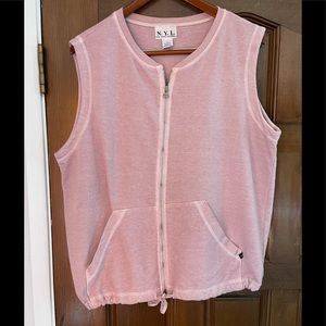 N.Y.L. 100% cotton pink vest